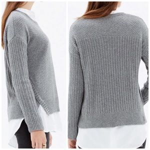 Madewell textured sweater